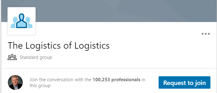 The Logistics of Logistics