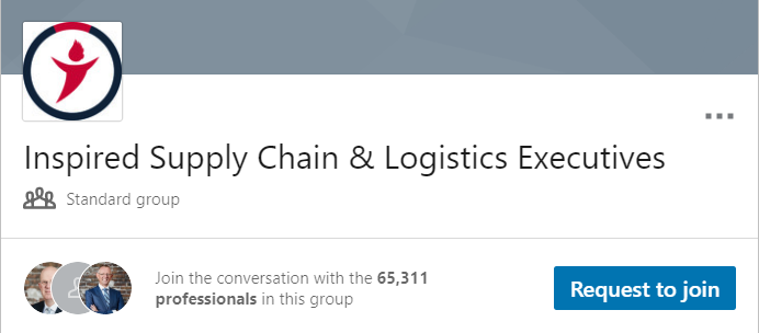 Inspired Supply Chain & Logistics Executives