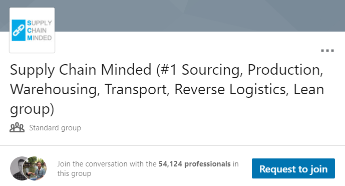 Supply Chain Minded (#1 Sourcing, Production, Warehousing, Transport, Reverse Logistics, Lean group)